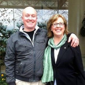 Brennan Wauters & Green Party Leader Elizabeth May